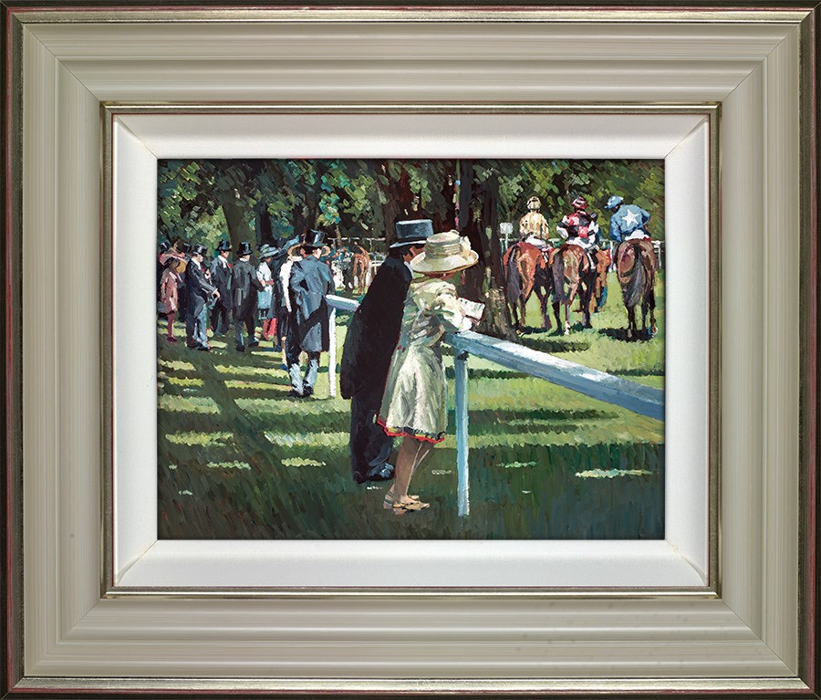 On Parade by Sherree Valentine Daines - Hand Finished Limited Edition on Canvas sized 14x11 inches. Available from Whitewall Galleries